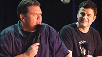 Steve Lemme and Kevin Heffernan at the Improv