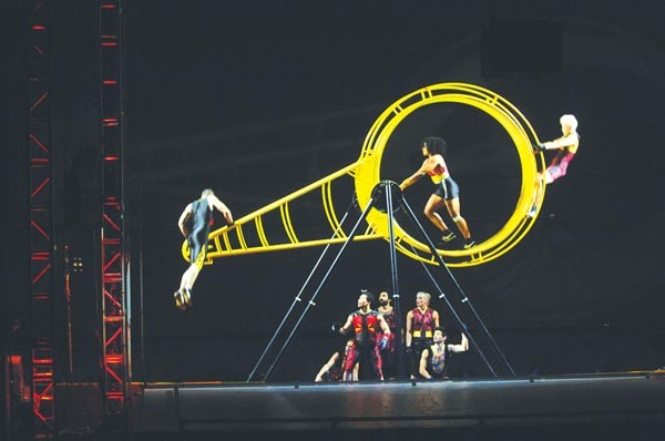 STREB performs Forces Sept. 28 and 29 at Pittsburgh Dance Council. - PHOTO COURTESY OF TOM CARAVAGLIA