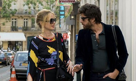 Street fight: Julie Delpy and Adam Goldberg argue charmingly.