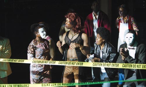 Street-life serenade: Classical Theatre of Harlem presents Ain't Supposed to Die a Natural Death