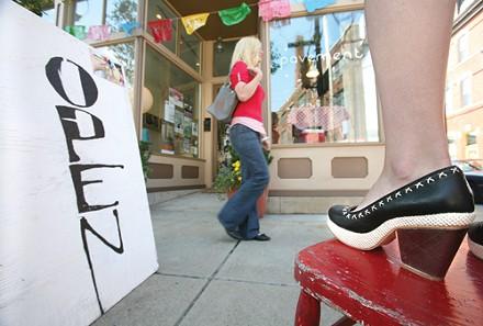 Streetwise fashions at Pavement - PHOTO: HEATHER MULL