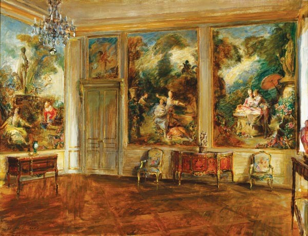 "Sumptuous: Walter Gay's ""The Fragonard Room"" (1926)"
