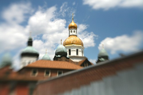 Super domes: The spires of St. John the Baptist - PHOTO: HEATHER MULL