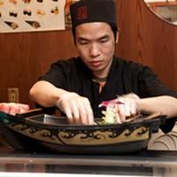 Sushi Tomo Sushi Tomo chef Henry Vy Photo by Heather Mull