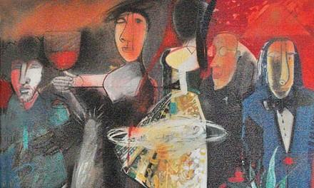 "Swiftly limned: Rumen Rachev's ""Opening Night."""