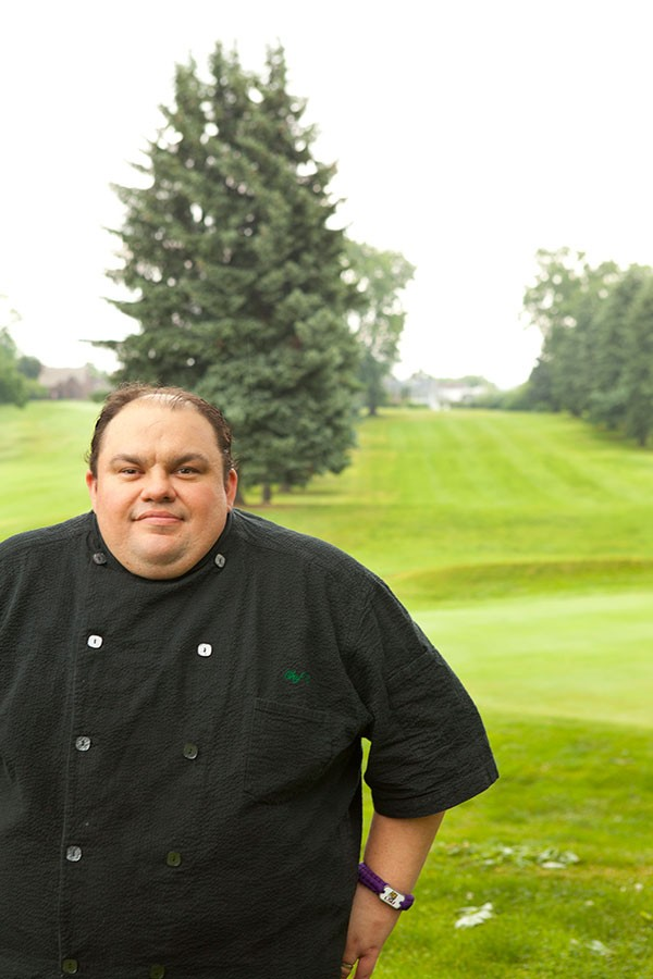 Tables on the Green chef Chad Radecker - PHOTO BY HEATHER MULL