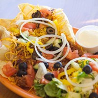 Bob's Diner Taco salad Photo by Heather Mull