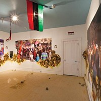 At the Mattress Factory, American and Egyptian artists put a fresh spin on global politics.