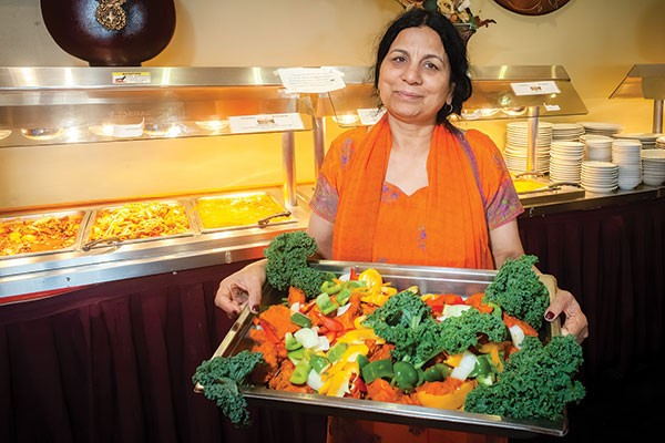 Taj Mahal owner Usha Sethi, Indian dishes, best of