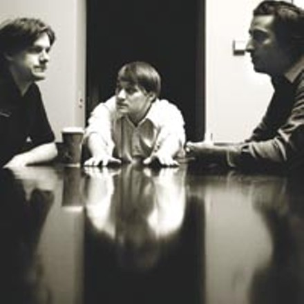 Take a meeting: Meeting of Important People (Matt Miller, Josh Verbanets and Aaron Bubenheim, from left)