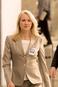 Taking on the system: Naomi Watts, in Fair Game