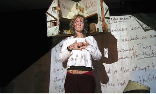 Tavia La Follette explores a multimedia attic in I Am My Mother's Daughter. - For complete festival info, 412-281-8723 or www.artsfestival.net