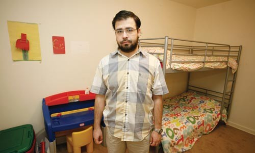 Tawfiq Ali, in his children's empty bedroom - HEATHER MULL