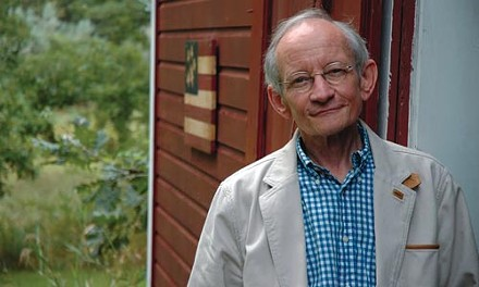 Ted Kooser writes poems.