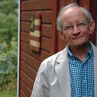 Amidst controversy over poetry's future, former U.S. Poet Laureate Ted Kooser visits.