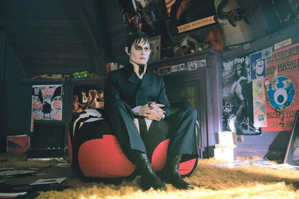 That '70s Show: Barnabas Collins (Johnny Depp) is a man out of time.