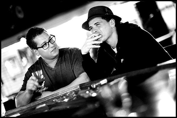 That Summer: Charles Rocha, right, with Brad Evanovich