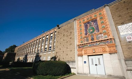The August sale of the Lemington Elementary School building to a church has sparked protest. - HEATHER MULL