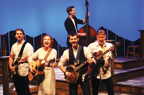 The cast of Ring of Fire, at Pittsburgh CLO