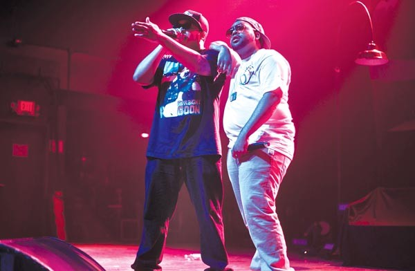 The Come Up: Franchise (left) and Vinny Radio