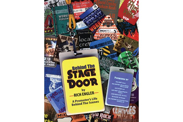 The cover of Rich Engler's new memoir, Behind the Stage Door