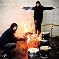 Japandroids' brush with mortality is just more fuel for the fire