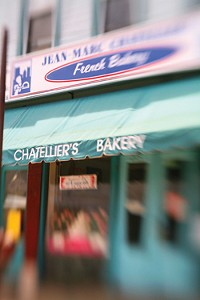 The entry to Chatellier's Bakery - PHOTO: HEATHER MULL