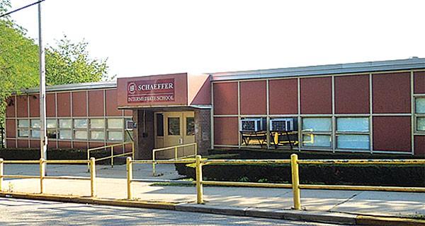The former Schaeffer Intermediate School in Sheraden