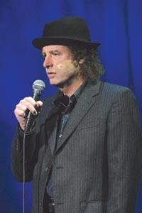 The guy off the couch: Steven Wright.
