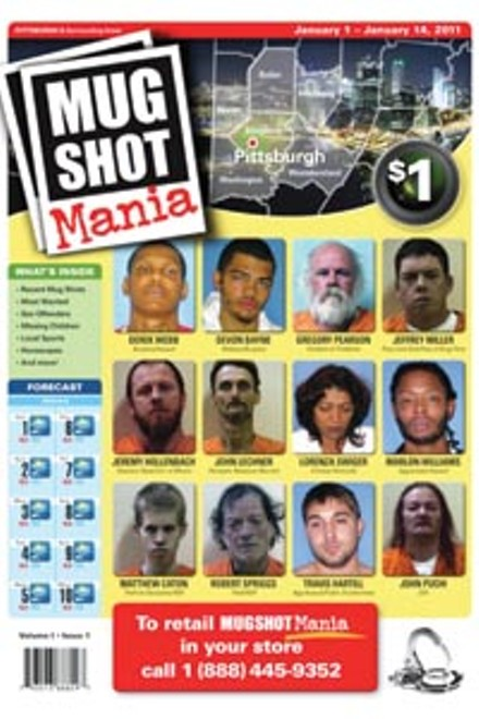 The inaugural issue of Mugshot Mania
