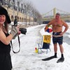 The making of our cover with Pittsburgh Polar Bear Club President Frank Nelson