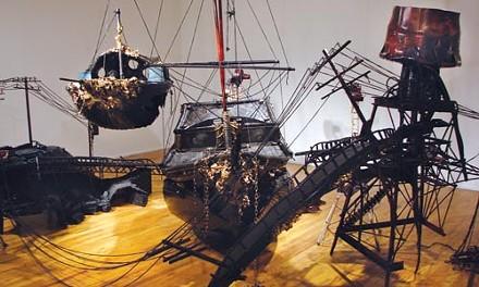 "The peculiar installation: Scott Pellnat's ""Slave Ship"""