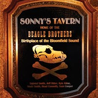 The plaque to be hung at Sonny's Tavern the night of the Beagle Brothers' listening party