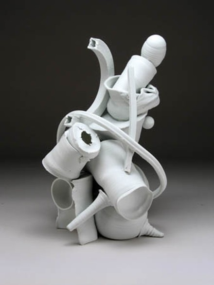"""The process of making"": Ed Eberly's ""Figure Dynamic."" Image courtesy of the artist."