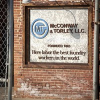 McConway & Torley Photo Slideshow The sign at the entrance of the McConway & Torley in Lawrenceville Photo by Heather Mull