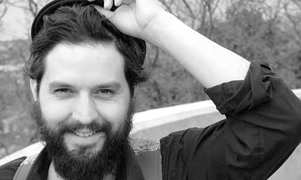 The smile your beard forced out: Sarazin Blake - COURTESY OF DANIELLE KILROY