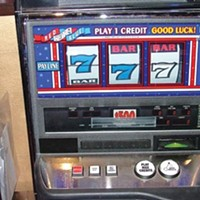 The state's only $500 slot machine