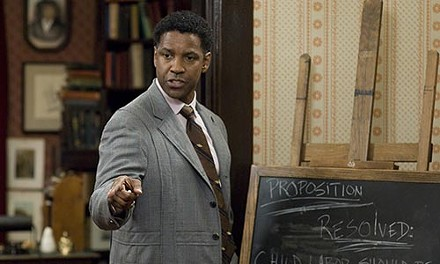 The word is heard: Denzel Washington as debate coach Melvin B. Tolson
