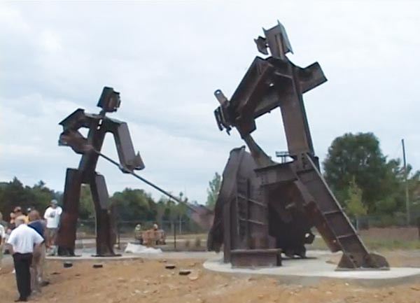 """The Workers,"" by Tim Kaulen and the Industrial Arts Co-op."
