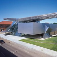 There's a great new work of architecture in, yes, Akron.