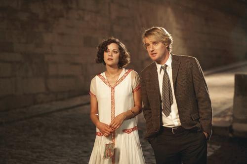 They'll always have Paris: Marion Cotillard and Owen Wilson