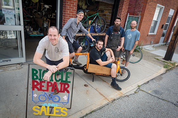 Thick Bikes owner Chris Beech,  bike shop, pittsburgh, best of
