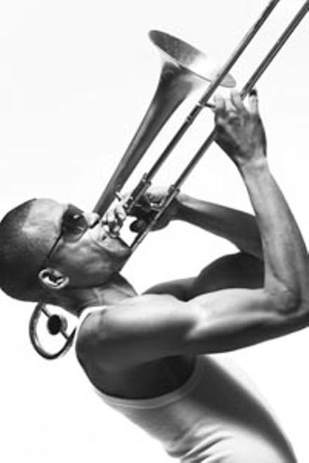 """Thinkin' about you"": Trombone Shorty"