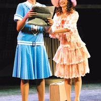 Thoroughly entertaining: Jessica Ernest (left) and Fredi Bernstein in Point Park's <i>Thoroughly Modern Millie</i>