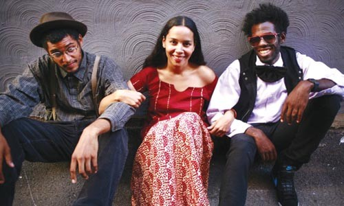 Thoroughly modern: The Carolina Chocolate Drops