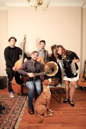 Three chords and the truth, plus a dog: The Armadillos - PHOTO BY HEATHER MULL