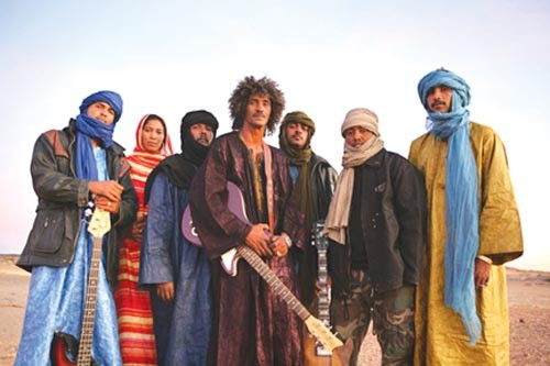 Tinariwen - PHOTO COURTESY OF THOMAS DORN
