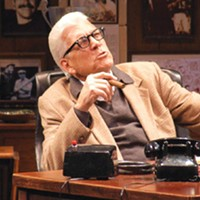 Tom Atkins in Pittsburgh Public Theater's <i>The Chief</i>