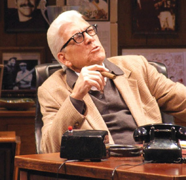 Tom Atkins in Pittsburgh Public Theater's The Chief