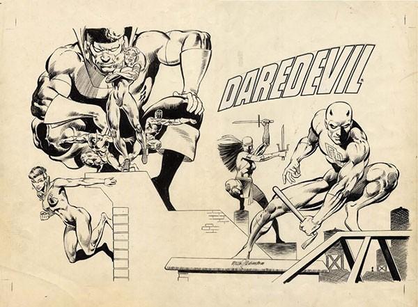 ToonSeum exhibit When Worlds Collide: The Ultimate Superhero Smackdown